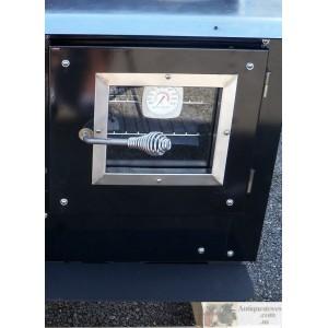 Retro Fit Oven View Door Black