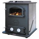 1400WH Coal Circulator Stove 80,000BTU