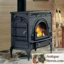 DutchWest Series Wood Burning Catalytic Cast Stove