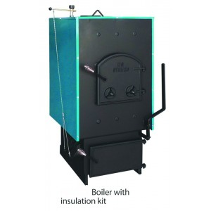 DS1100  Wood or Coal Fired Boiler with Insulated Jacket
